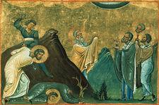 Erastus__olympus__rhodion__sosipater__quartus_and_tertius_(menologion_of_basil_ii)