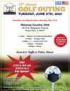 Golf Outing - June 8, 2021