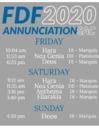 Annunciation Sacramento at FDF 2020