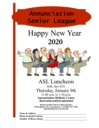 ASL Monthly Luncheon | January 9th